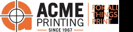 Acme Printing Logo